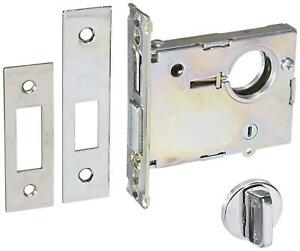 Arrow Lock N Series Bright Chromium Small Body Mortise Deadlock With Interchang