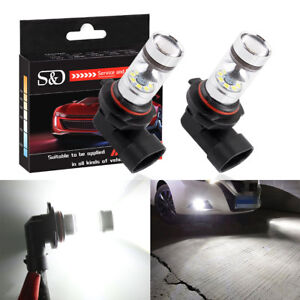 2x 9006 Hb4 High Power 20 Led 3030 Bulb Fog Light Driving Lamp 6000k Super White
