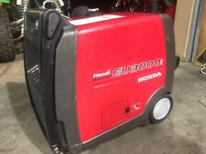 Super Quiet Honda Eu3000i Handi 3000w Gas Powered Portable Generator Inverter