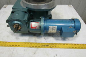 Camco 902rdm12h32 270 12 Stop Rotary Index Table 40 1 Gear Reducer 90vdc Motor