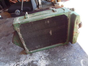 John Deere A Tractor Radiator Complete Part A2360r Tag 13