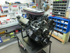 Fuel Injected Sbf Ford Windsor Turn Key 408w 450hp Crate Engine Edelbrock Heads