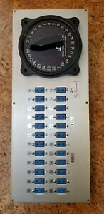 Omega Thermocouple Switch And 28 Input Jack Panel T Type Miniature