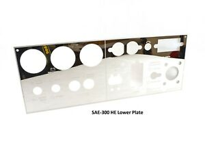 Sae 300 He Mirrored Stainless Steel Lower Plate l16333 vm Bw1573