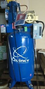 New Quincy Qt 5 Splash Lubricated Reciprocating Air Compressor