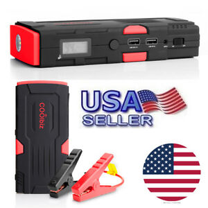 Car Battery Jump Starter 12v 600a Peak Portable Booster Box 16500mah Power Bank