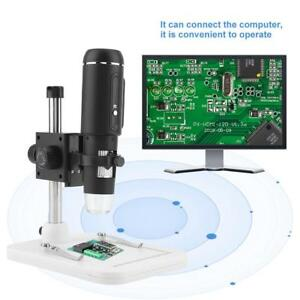 1000x Usb3 0 Digital Lab Electronic Microscope 5mp Camera Magnifier With Holder