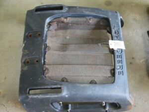 John Deere 110 Industrial Backhoe Front Grill Assembly Tag 2863