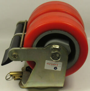 Caster Concepts Heavy Duty Steel Dual Caster Wheels 08400 60 36