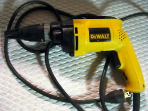 Dewalt Dw257 Vsr Deck drywall Screwdriver