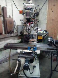 4 Axis Cnc Mill Milling Machine Single Phase Live Rotary Table Tooled Up 9x49