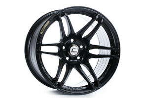 Cosmis Mrii 18x8 5 22 5x100 Full Gloss Black Concave Set Of 4
