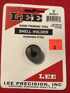 Lee 90207 Hand Priming Tool Shell Holder #7 32acp .30 Carbine