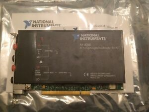 National Instruments Pci 4060 Multimeter Card 5 1 2 Digits Ni Daq Dmm