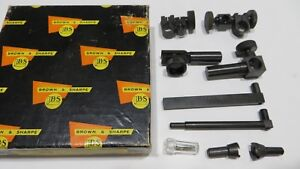 Brown Sharpe Dial Test Indicator Accessory Set 599 7041 2 Extra Pieces