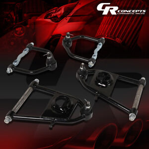 Tubular Steel Upper Lower Suspension Control Arms Kit For 74 78 Ford Mustang Ii