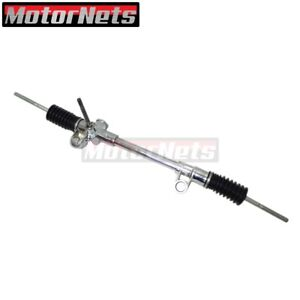 Chrome 1974 78 Ford Mustang Ii 2 Manual Steering Rack Pinion Pinto Street Rod