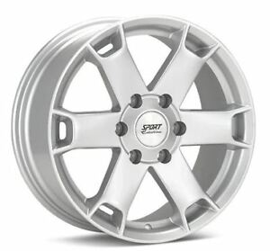 Sport Edition Tk6 Silver Painted Wheel Ford 135mm Bolt Pattern