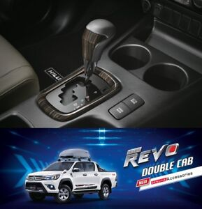 Shift Knob At Wooden Genuine Parts For Toyota Hilux Revo 2015 2019