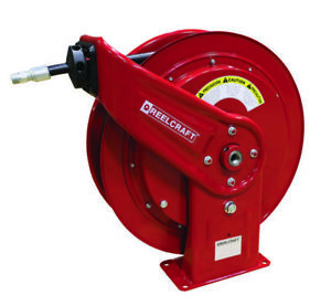 Reelcraft Hd76075 omp 3 8 X 75 Medium Pressure Oil Hose Reel 2600psi