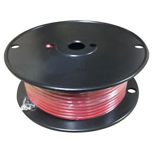 Red 10 Gauge Gpt Primary Wire 100 Foot Spool