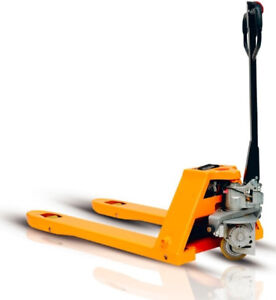 3000 Lbs Capacity Electric Walkie Pallet Jack Great For Small Places
