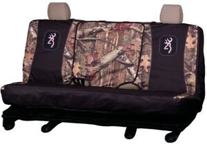 Spg Bench Realtree Mossy Oak Browning Seat Cover For Full Size Trucks
