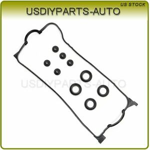 Valve Cover Gasket For 92 00 Honda Civic Del Sol Si Vx Ex 1 5l 1 6l D16z6