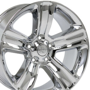 20 Rims Fit Dodge Ram Chrome Wheels 2453