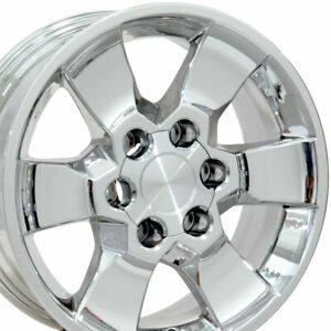 17 Rims Fit Lexus Toyota 4runner Tundra Tacoma Chrome Wheels 69562 Set