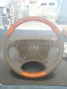 98 To 06 Mercedes S Class Grey Wooden Steering Wheel Sport Edition