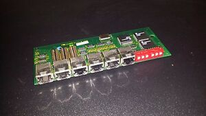 Verifone Ruby Gas Pump Parts Serial Communications Board 6 Port 13778 01