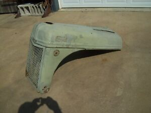 Vintage 1952 8n Ford Tractor Hood Grill And Parts