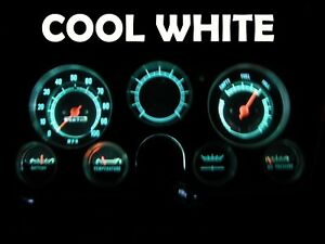 Gauge Cluster Led Dashboard Bulb Cool White For Chevy 67 72 C K Truck C10 C30