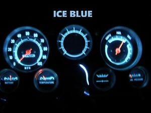 Gauge Cluster Led Dashboard Bulb Ice Blue For Chevy 67 72 C10 K10 Truck