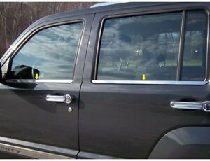 Fits 2008 2012 Jeep Liberty 4dr Suv Ws48070 Window Sill Accent