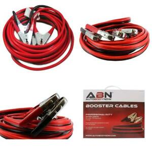 Abn Jumper Cables 25 Feet Long 2 gauge 600 Amp Commercial Automotive V