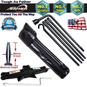 Tool Kit For 02 15 Dodge Ram 1500 2 Tonne Scissor Jack W Spare Tire Lug Wrench