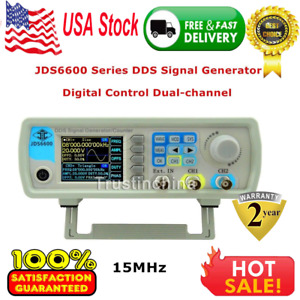 Rd Jds6600 Series 15mhz Digital Control Dual channel Dds Signal Generator In Us