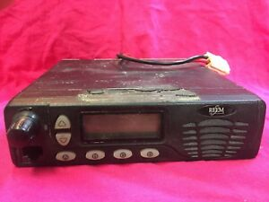 Relm Rmv50r 50 Watt Vhf Mobile Radio 128 Channel