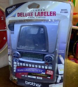 Brother P touch Advanced Deluxe Labeler Model Pt 1880 Label Maker