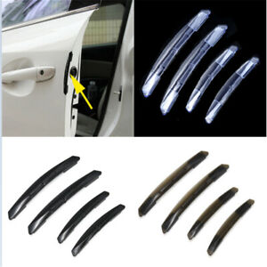 4x Car Door Edge Guard Bumper Anti Scratch Protector Moulding Strip Accessories
