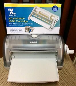 Xyron Ezlaminator 9 Manual Laminating Machine W new 60ft Refill Cartridge