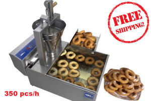 Compact Donut Fryer Maker Making Machine Tank 350 Pcs h Your Small Business