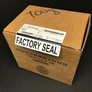 New Allen Bradley 1746 p4 Slc 500 Hi Capacity Rack Chassis Power Supply Plc Oldr