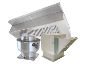 6 Type 1 Commercial Kitchen Hood And Fan System