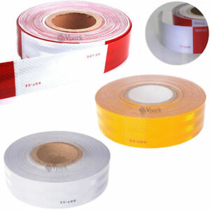 Conspicuity Tape Dot c2 Approved Reflective Trailer Red White Yellow 2x150 roll