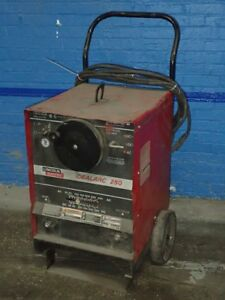Lincoln Electric Ac dc 250 Welder 30v 250a 11180220013