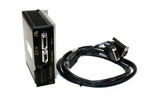 Parker Ar 02ae Aries Servo Motor Drive 200w 120 240vac 1 75a With Cable