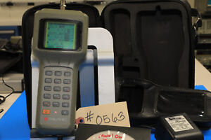 Trilithic Model One Cable Signal Level Meter 5 870 Mhz W charger Bag 0563